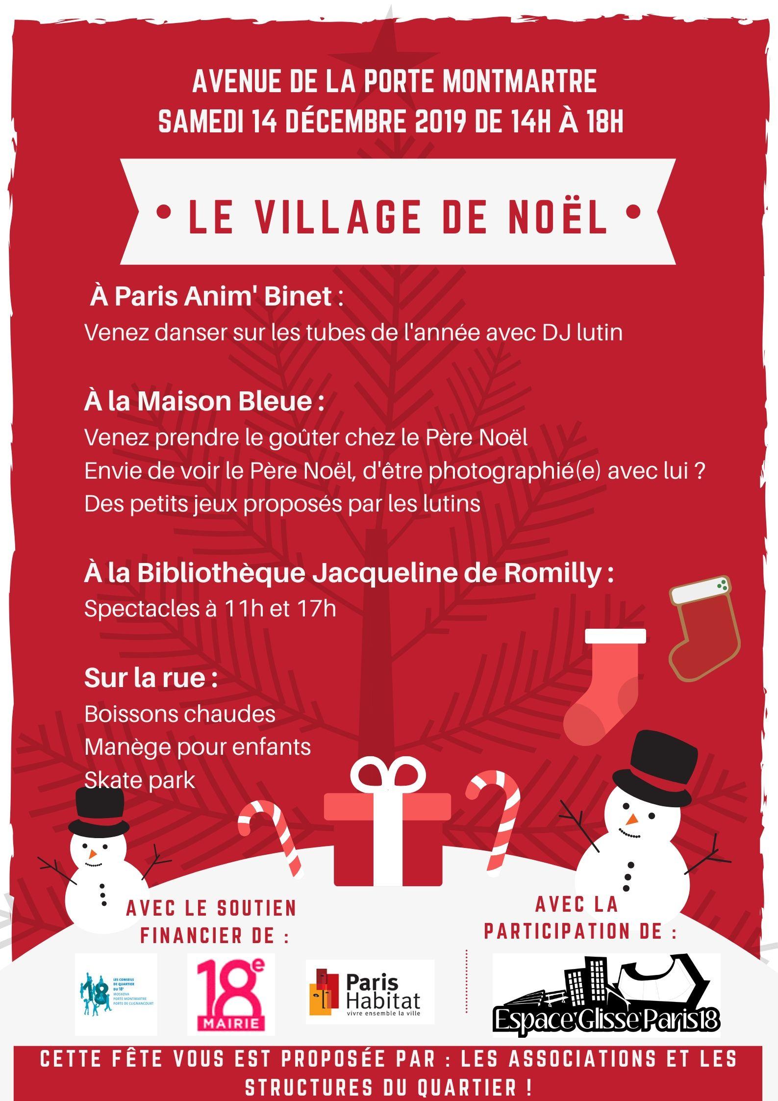 descriptif village de Noel