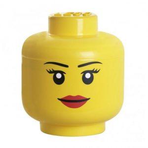 visage d'un lego